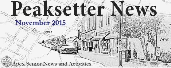 November Peaksetter News