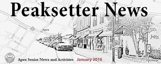 Peaksetter News January