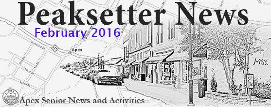 Peaksetter News February 2016
