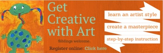 Get creative with art