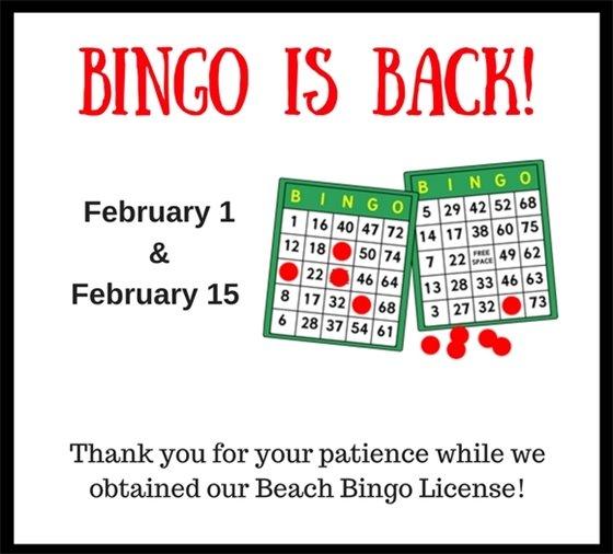 Bingo is Back