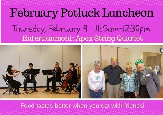 Feb Potluck Luncheon