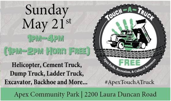 May 21st Touch-A-Truck