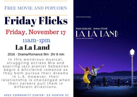 Nov Friday Flicks