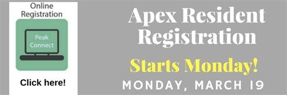 Apex Resident Registration