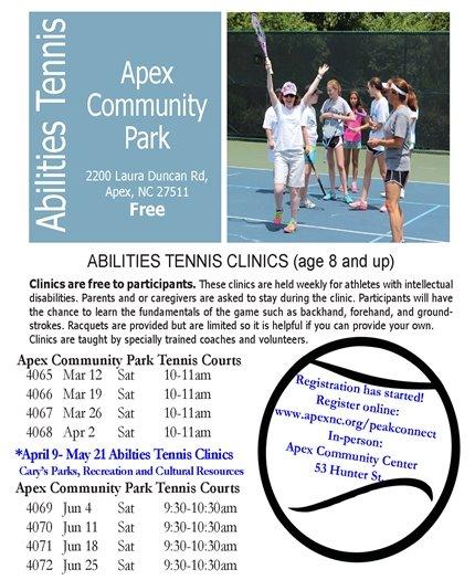 Abilities Tennis