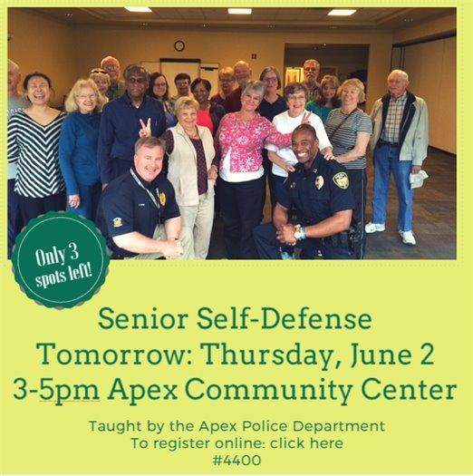 Senior Self- Defense