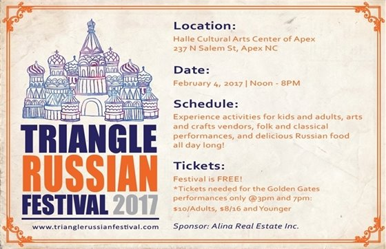 Triangle Russian Festival