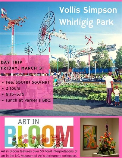 Art in bloom day trip