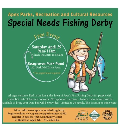Special Needs Fishing Derby