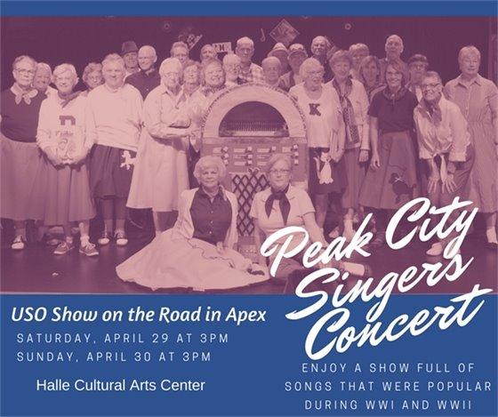 Peak City Singers Spring Concert