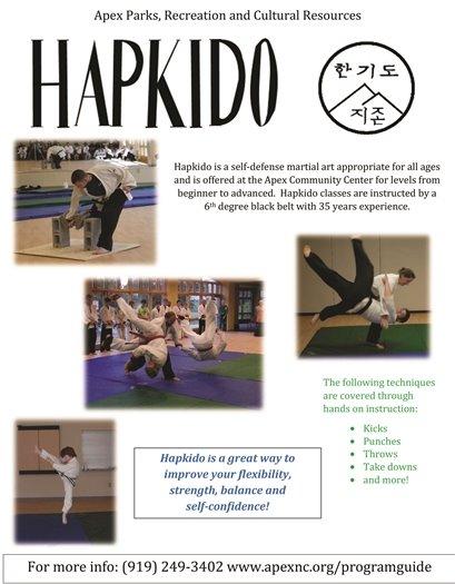 hapkido flyer