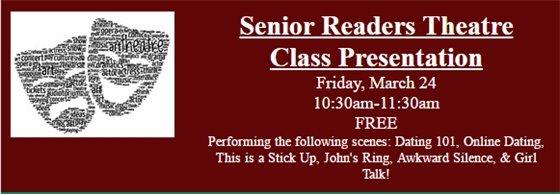 Senior Readers Theatre