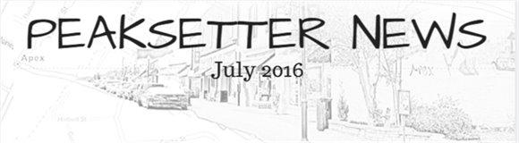 Peaksetter News- July 2016