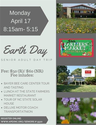 Earth Day Senior Trip
